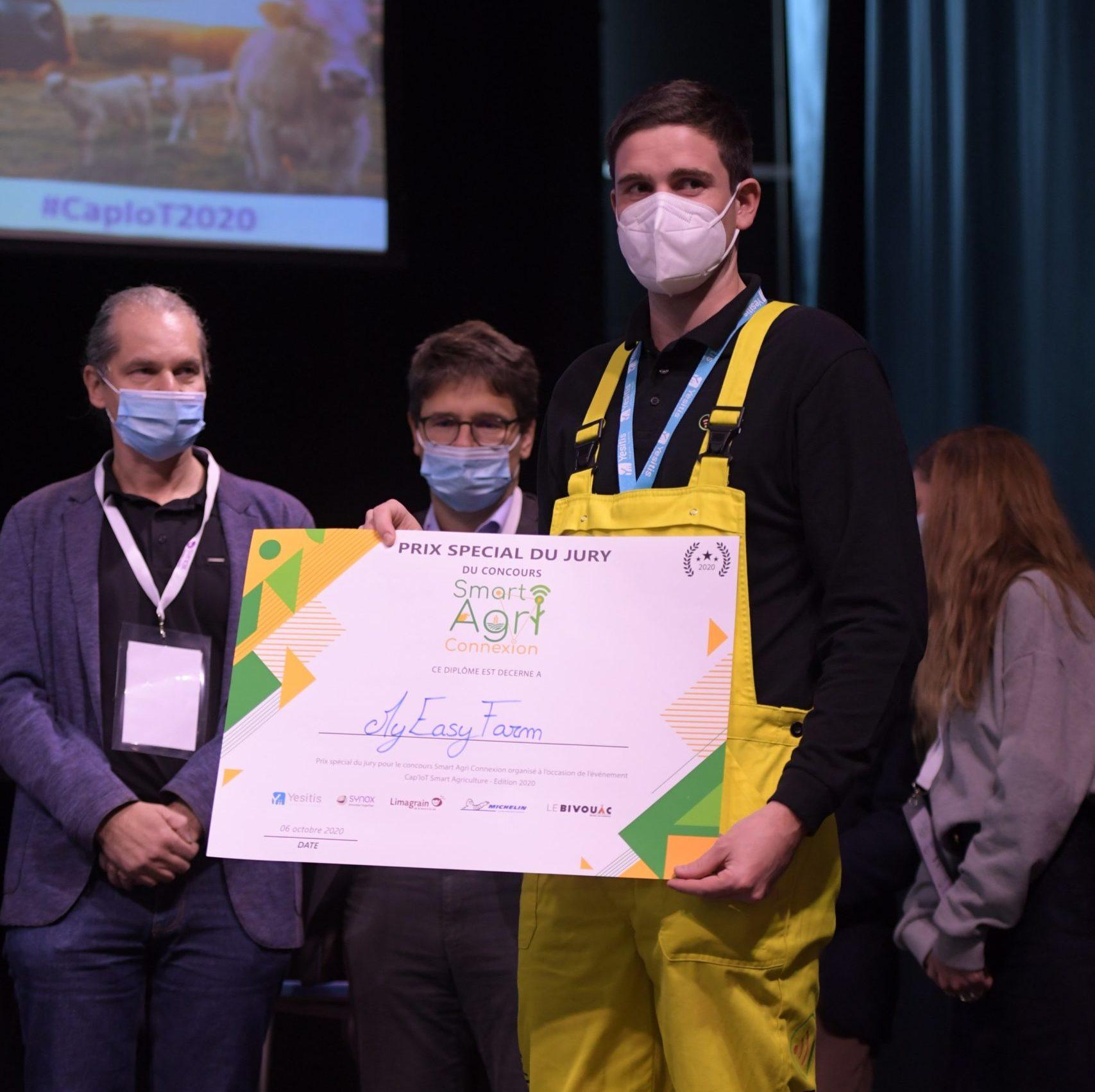 MyEasyFarm prix du jury - Smart Agri Connexion